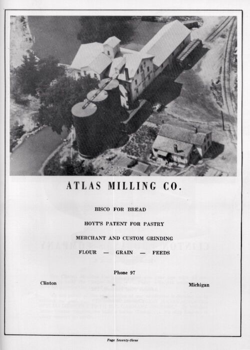 Atlas Milling Co Aerial Picture