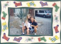 Bernard M & KJ & Laura Hoyt 2002 Christmas Card