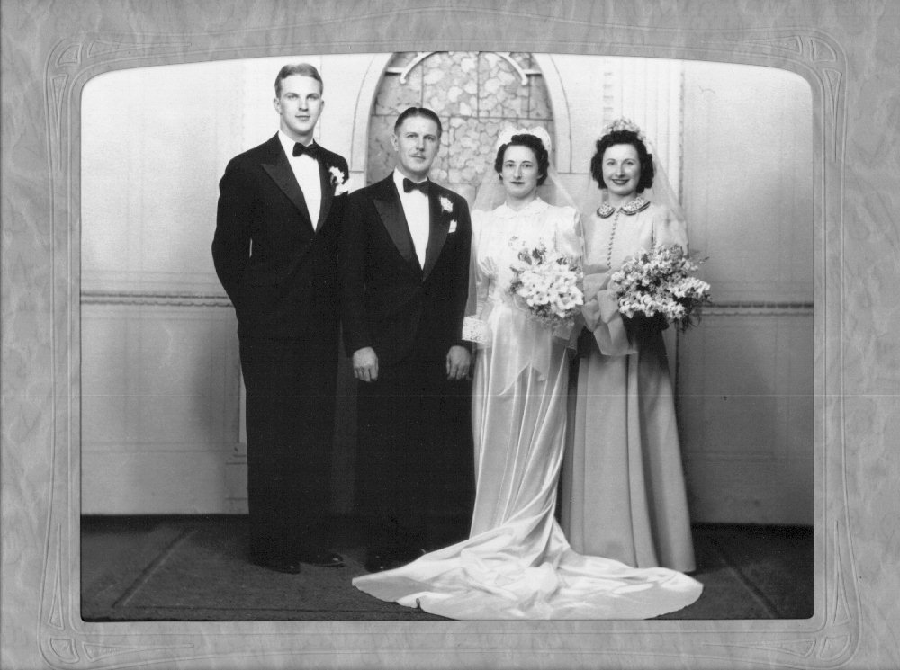 Hugh & Betty & Paul & Pauline Hoyt