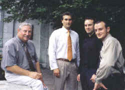 Father & 3 Sons  Hohn-Joshua-Jason-Justin 08-15-2003